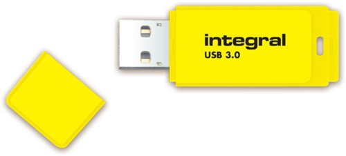 USB-STICK INTEGRAL FD 32GB NEON GEEL 1 STUK-3