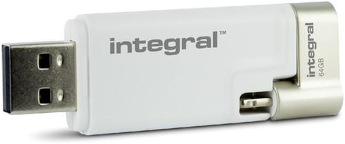 USB-STICK INTEGRAL 64GB 3.0 I-SHUTTLE 1 Stuk
