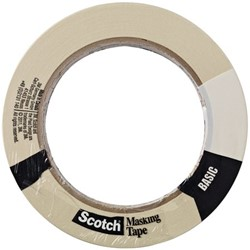 AFPLAKTAPE 3M SCOTCH BASIC 24MMX50M 1 STUK
