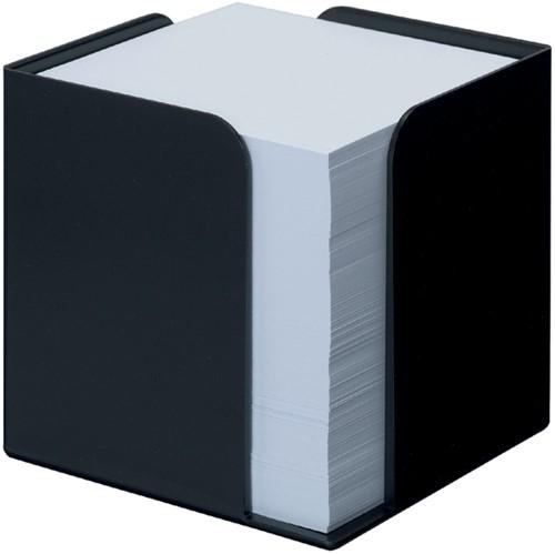 MEMOKUBUS JALEMA RE-SOLUTION 95X95X95MM +700VEL ZW 1 Stuk