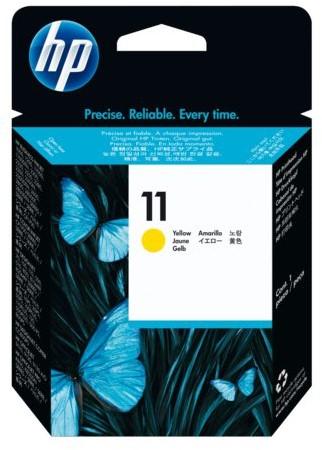 INKCARTRIDGE HP 11 C4838A GEEL 1 STUK