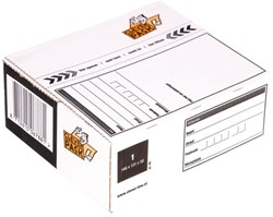 POSTPAKKETBOX 1 CLEVERPACK 146X131X56MM 1 STUK