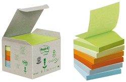 MEMOBLOK 3M POST-IT Z-NOTE R330 RECYCLE RB 6 STUK