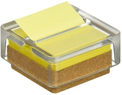 MEMOBLOKDISPENSER 3M POST-IT Z-NOTE R330 GLAS 12+1 STUK