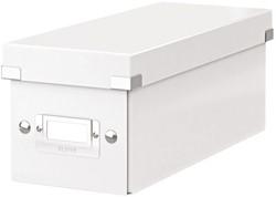 CD-BOX LEITZ CLICK&STORE 127X124X320MM WIT 1 STUK