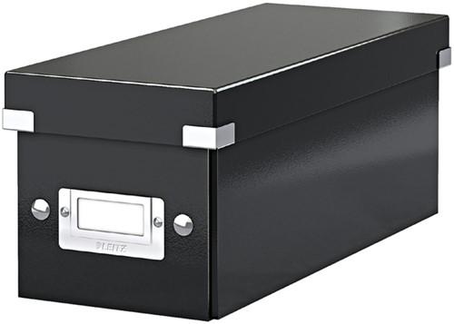 CD-BOX LEITZ CLICK&STORE 143x136x352 ZWART 1 Stuk