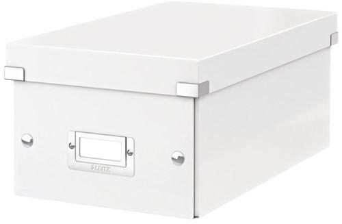 DVD-BOX LEITZ CLICK&STORE 206X147X352MM WIT 1 STUK