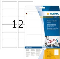 ETIKET HERMA MOVABLE 10010 88.9X46.6MM 300ST 25 VEL