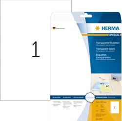 ETIKET HERMA 4375 A4 FOLIE TR 25ST 25 VEL