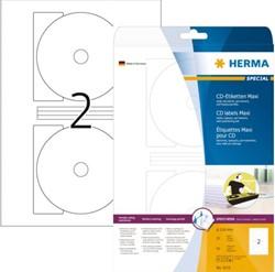 ETIKET HERMA 5115 CD 116MM 50ST 25 VEL