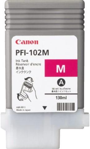 INKCARTRIDGE CANON PFI-102 ROOD 1 STUK