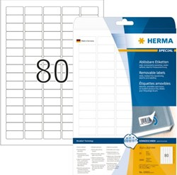ETIKET HERMA MOVABLE 10003 35.6X16.9MM 2000ST 25 VEL