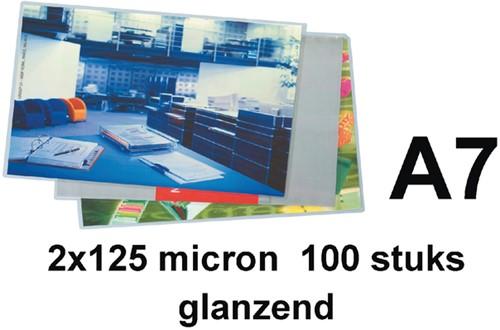 LAMINEERHOES GBC A7 2X125MICRON 100 Stuk