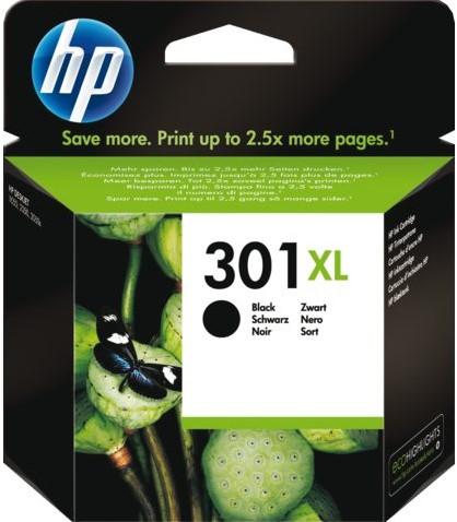 INKCARTRIDGE HP 301XL CH563EE HC ZWART 1 STUK