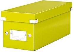 CD-BOX LEITZ WOW CLICK&STORE 127X124X320MM GROEN 1 STUK