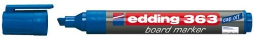 VILTSTIFT EDDING 363 WHITEBOARD SCHUIN 1-5MM BLAUW 1 STUK