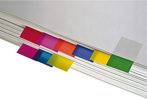 INDEXTABS 3M POST-IT 680-23 25MM FELBLAUW 50 STUK-2