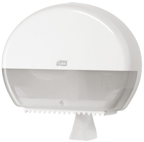 DISPENSER TORK T2 555000 TOILETPAPIER MINI JUMBO WIT 1 STUK