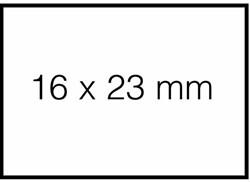 PRIJSETIKET SATO DUO 20 AFN WIT TBV PB220 1200ST 1200 ETIKET