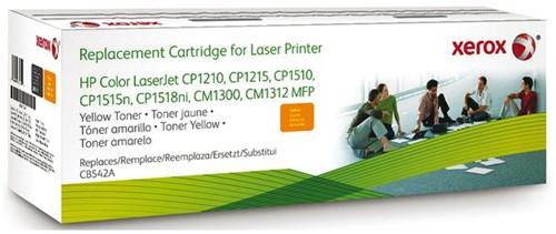 TONERCARTRIDGE XEROX HP CB542A 1.8K GEEL 1 STUK