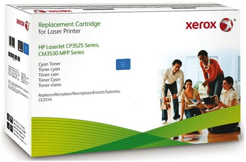 TONERCARTRIDGE XEROX HP CE251A 7.6K BLAUW 1 STUK