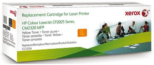 TONERCARTRIDGE XEROX HP CC532A 3K GEEL 1 STUK