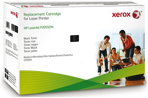 TONERCARTRIDGE XEROX HP CE505X 6.7K ZWART 1 STUK