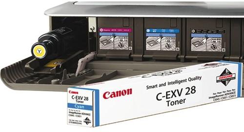 TONERCARTRIDGE CANON C-EXV 28 38K BLAUW 1 STUK