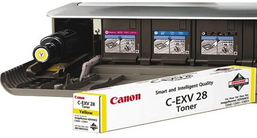 TONERCARTRIDGE CANON C-EXV 28 38K GEEL 1 STUK