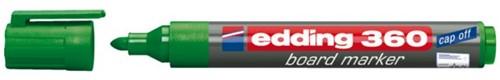 VILTSTIFT EDDING 360 WHITEBOARD 1.5-3MM GROEN 1 STUK