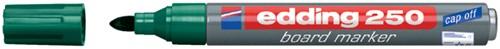 VILTSTIFT EDDING 250 WHITEBOARD ROND 1.5-3MM GROEN 1 Stuk