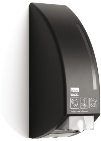 DISPENSER SATINO BLACK TOILETBRILREINIGER 1 STUK