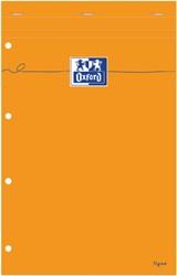 SCHRIJFBLOK OXFORD EVERYDAY A4+ LIJN GEEL PAPIER 1 STUK