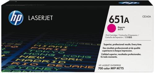 TONERCARTRIDGE HP 651A CE343A 16K ROOD 1 STUK