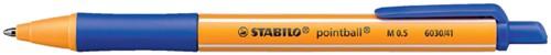 BALPEN STABILO POINTBALL BLAUW 1 Stuk