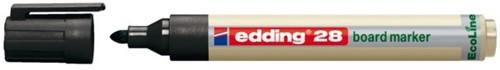 VILTSTIFT EDDING 28 WHITEBOARD ECO ROND 1.5-3MM ZW 1 STUK