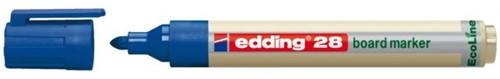 VILTSTIFT EDDING 28 WHITEBOARD ECO ROND 1.5-3MM BL 1 STUK