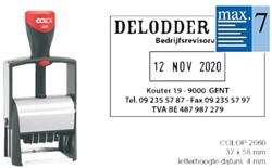 WOORD-DATUMSTEMPEL COLOP S2660 CLASSIC BON 36X56MM 1 STUK