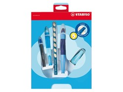 GIFTPACK STABILO EASYERGONOMICS EXPERTS BL LINKS 5 STUK