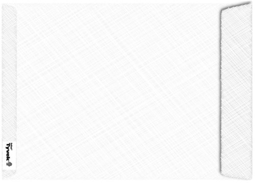 ENVELOP TYVEK AKTE B4 254X353 54GR WIT 100 STUK