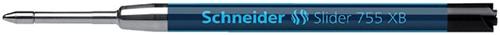 BALPENVULLING SCHNEIDER 755 SLIDER JUMBO XBR ZWART 1 Stuk