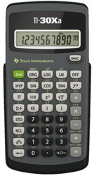 REKENMACHINE TEXAS TI-30XA 1 STUK