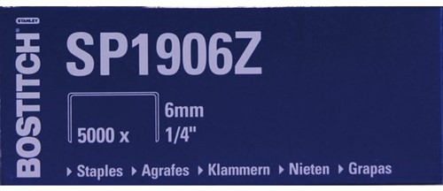 NIETEN BOSTITCH SP1906Z 5000 STUK