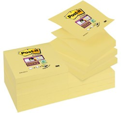 MEMOBLOK 3M POST-IT Z-NOTE S330 STICKY GEEL 90 VEL