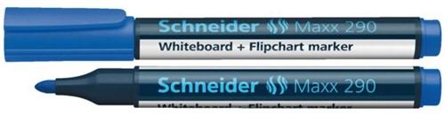 VILTSTIFT SCHNEIDER 290 WHITEBOARD ROND 2-3MM BLAUW 1 STUK