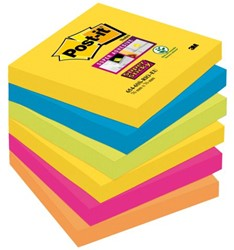 MEMOBLOK 3M POST-IT 654-SSRO 76X76MM RIO 6 STUK