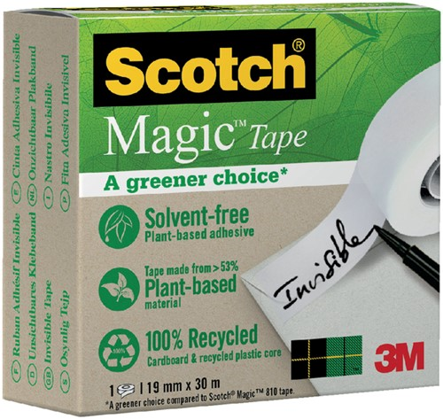 PLAKBAND 3M SCOTCH 900 19MMX30M MAGIC ONZICHTBAAR 1 Stuk