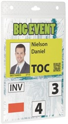 BADGE DURABLE EVENT A6 TRANSPARANT 20 STUK