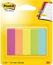 INDEXTABS 3M POST-IT 670/5CA CAPETOWN 5X50 STUK