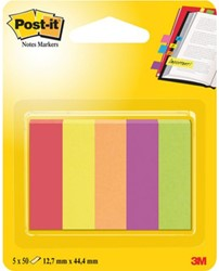 INDEXTABS 3M POST-IT 670/5JA JAIPUR 5X50 STUK